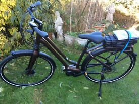 Brand new Giant prime e3 electric bike 2017 model front and back suspension no time wasters please.