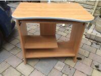 Computer desk - wood effect