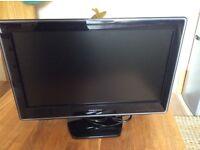 Toshiba 19 inch TV/ DVD player