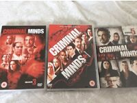 Criminal mind box sets season 3-5