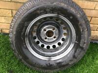 Brand-new wheel and tire Trailer wheel brand-new 8 ply