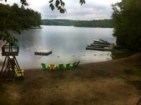 August 16-23 & August 23-30 Cottage Country Vacation!