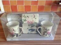 Creative Tops Rose Garden Time for Tea Gift Set Mug/ Coaster and Tray