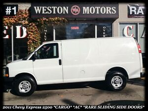 2011 Chevrolet Express 2500 *CARGO *AC *RARE SLIDING SIDE DOORS