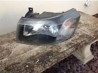 Ford transit 2000-2006 front head lights