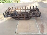 Cast Iron Fire Basket 23 x 12 1/2 x 6 inches