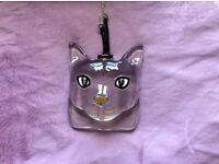 Transparent cat bag charm perfect condition