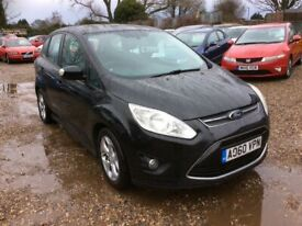 image for Ford, C-MAX zetec 1.6TDci £30 per year road tax @ Aylsham Road Affordable Cars