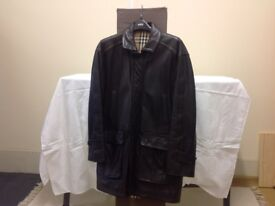 Leather jacket, excellent condition, size 48, Burberrys - made in England