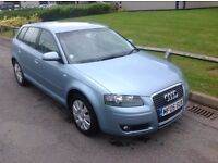 2005 Audi A3 1.6 Special Edition Sportback. FULL LEATHER. FSH