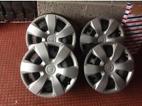 Vivaro /traffic steel wheels with trims£35