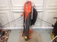 Flymo vacuum/blower