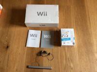 Nintendo Wii games consol bundle