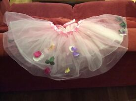 Pink skirt with petals