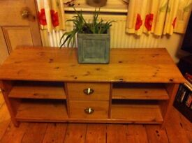 Lovely Pine TV Stand