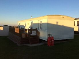 Caravan for rent on Liskeyhill Caravan site, awesome views and not far from the shops and bars.