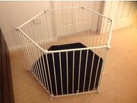 Mothercare Playpen and room divider
