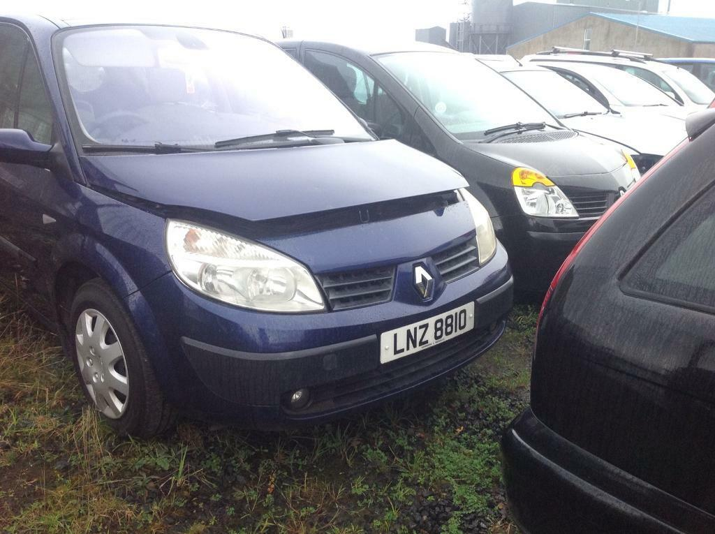 2004 RENAULT SCENIC EXPEESSION DCI 1.5 DIESEL BREAKING FOR OARTS ONLY POSTAGE AVAILABLE NATIONWIDE