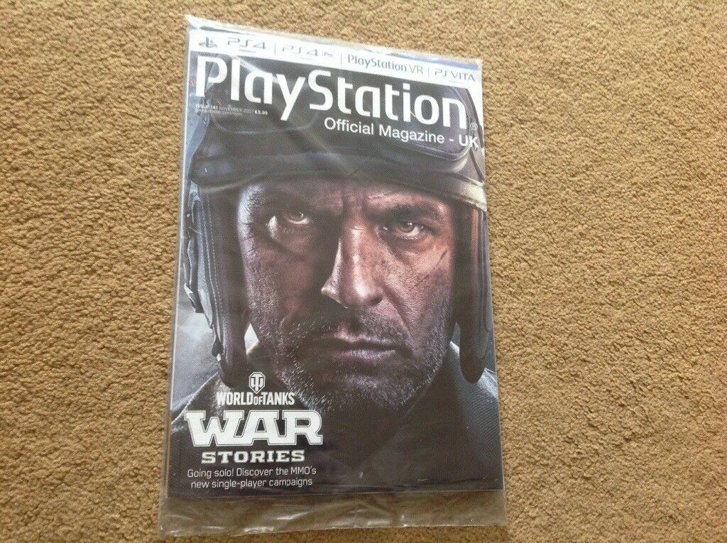 Brand new Play station magazine ( issue 141)