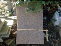 2 X Marble and Granite ? headstones/garden features. NOT USED OR ENGRAVED !!!