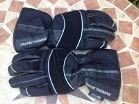 Ladies Frank Thomas motorcycle gloves for sale