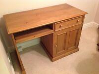 Solid Oak Desk For Sale