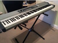 MIDI CONTROLLER for sale, Studiologic VMK 188plus, stand and sustain pedal included £200