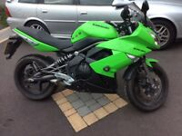 Kawasaki ER-6F, very low milage, mint condition