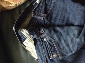 """Pair of men's Abercrombie & Fitch jeans in excellent condition £10 waist 33"""" length 32"""""""