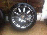 Alloy wheels 17 multi 4 stud