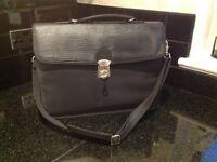 Black laptop/brief-case in good condition