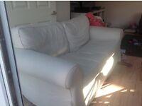 Cream ikea sofa