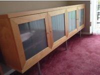 IKEA beech wood cabinet