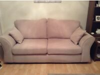 Three and two seater sofa 1yr old immac condition