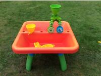 Sand and water table Early Learning Centre