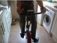 Folding Static Exercise Bike for sale. Great for exercising in your home so cuts out Gym prices !