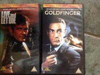 James Bond VHS