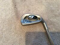 Ping i3+ 6 Iron White Spot with Training Grip