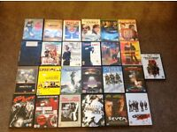 Collection of 25 DVDs