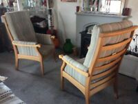 Too newly upolstered lounge chairs