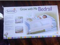 Brand new White bed rail