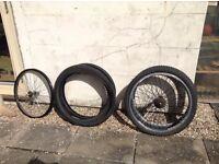 """Bike 26"""" Wheels & Tyres"""