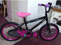 """Disney Tinkerbell 16"""" kids bike"""