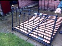 Double Bed -Metal Frame