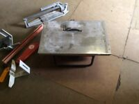 Tile cutter and accessories