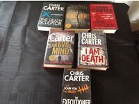 Chris Carter huge collection - Robert Hunter series