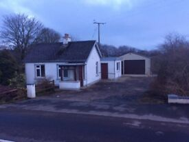 Small country bungalow to Rent -Armoy/Cloughmills area -close to bus stop