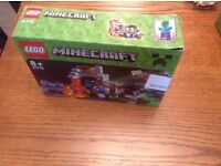 Lego Minecraft 21113 The Cave Brand new in box