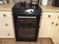 Belling Format Oven with ceramic hob