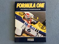 FIA Formula One F1 1988 Yearbook